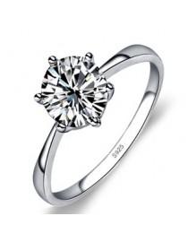 Изящное кольцо с напылением серебра, , 600 р., 217, , Кольца