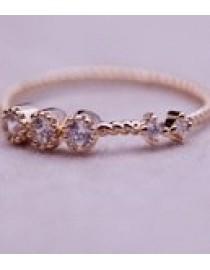 Роскошное кольцо с позолотой, , 690 р., 225, , Кольца