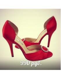 Босоножки красные , , 990 р., 042, , Обувь
