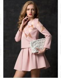 Розовый костюм , , 2 900 р., t7AwlUCf1-8, , Летние платья