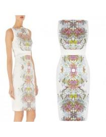 Летнее платье с цветочным принтом, , 2 400 р., UiTp3DhEBvs, , Летние платья