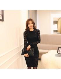 Платье ажурное черное, , 1 900 р., 160, , Повседневные платья