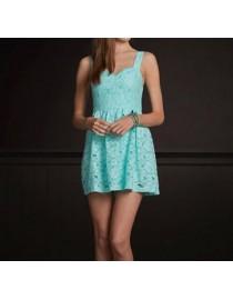 Легкое летнее платье бирюзовое, , 2 400 р., 203, , Летние платья