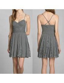 Платье Abercrombie&Fitch серое, , 2 400 р., 202-1, , Летние платья
