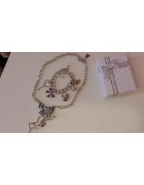 Набор ожерелье + браслет, , 1 200 р., 096, , Ожерелья